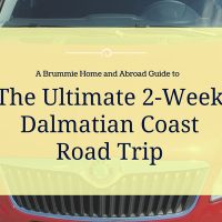 The Ultimate 2-Week Dalmatian Coast Road Trip