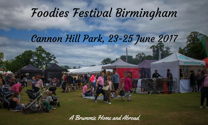 A Brummie Home and Abroad got the opportunity to attend a gastronomic gathering at the Foodies Festival...