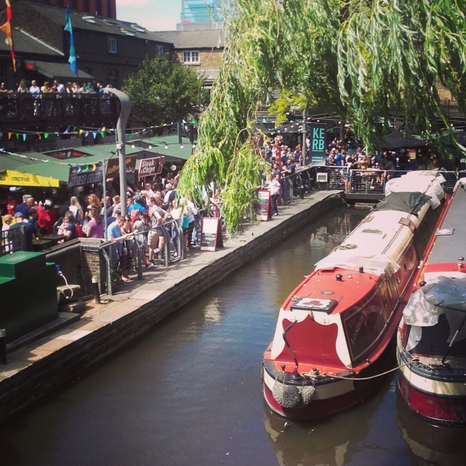 KERB is a huge street food market at Camden Lock with over 30 different street food stalls!