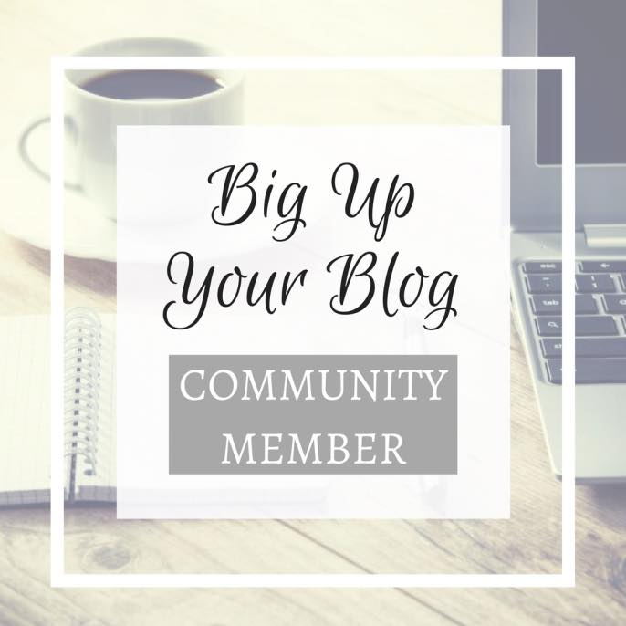 I'm a Big Up Your Blog Blogger!