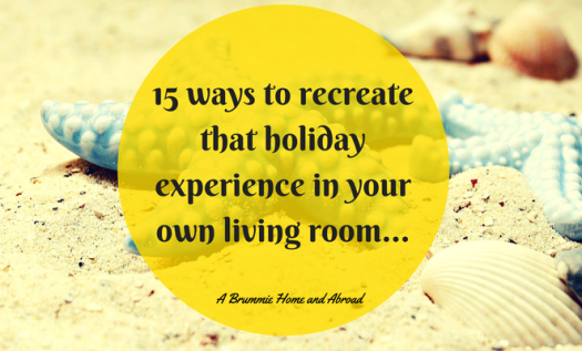 Not going away this summer? Jealous that your Instagram and Facebook Feeds are full of pictures of sun-drenched beaches and umbrella-filled cocktails? Here are 15 ways to have a holiday at home this summer...