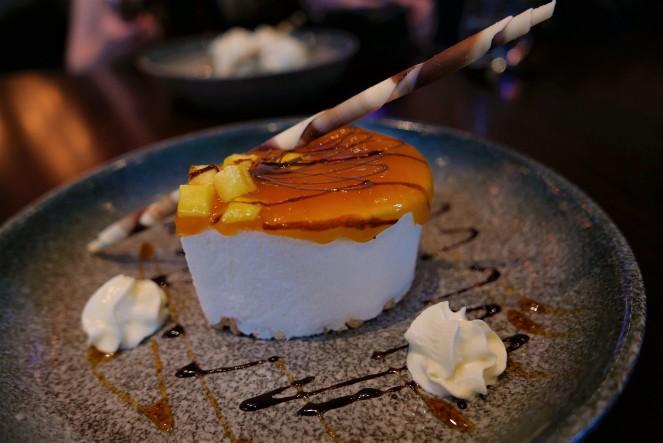 Mango & Passionfruit Cheesecake at Siamais Birmingham