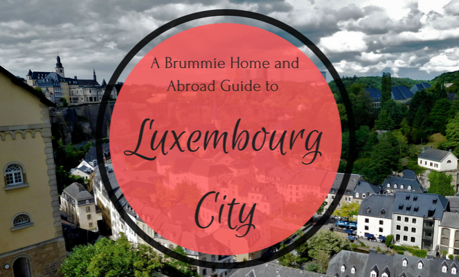 Three days in Luxembourg