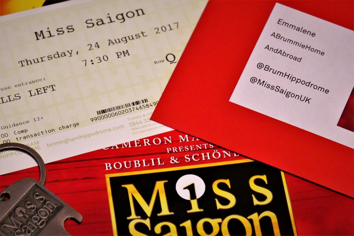 A Taste of Saigon at Birmingham Hippodrome…