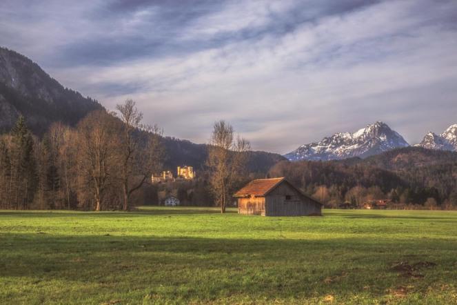 Fussen Mountain Scene