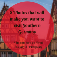 8 Photos to inspire you to visit Southern Germany