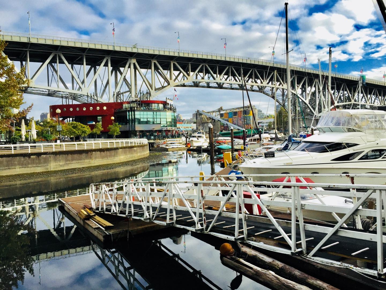 Walking Vancouver's seawall