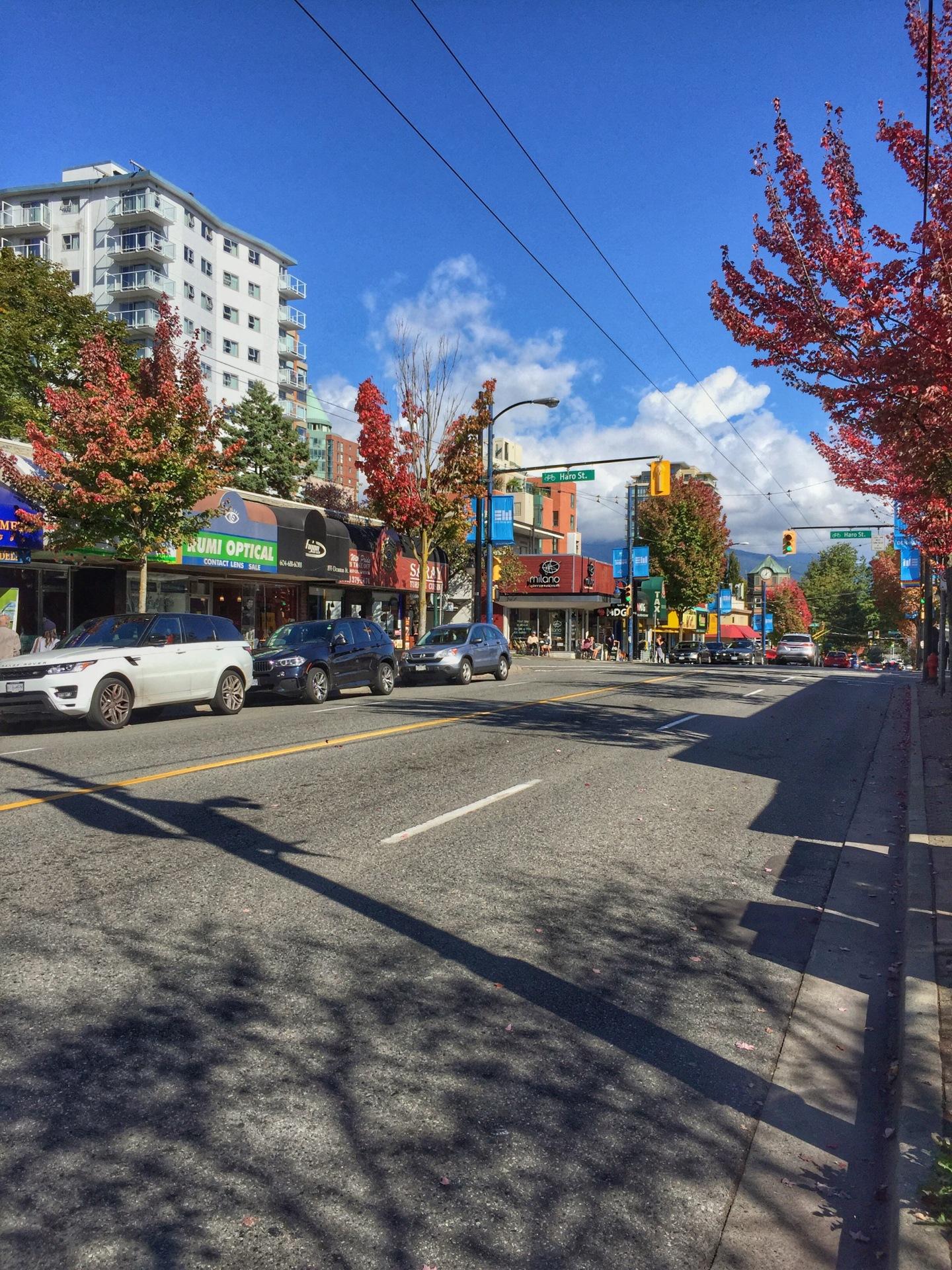 Denman Street, Vancouver