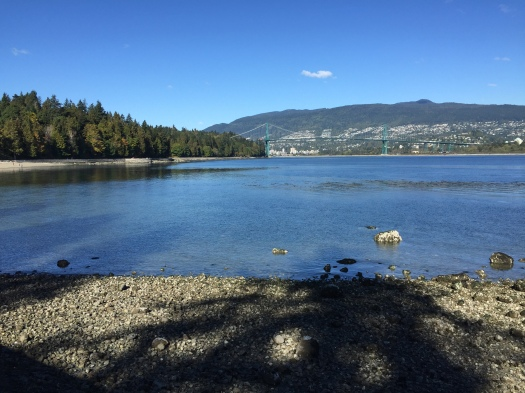 Views from the Stanley Park Seawall