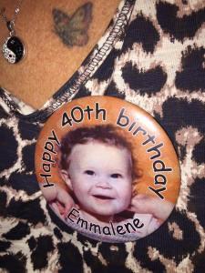 Happy 40th Birthday to Emmalene aka A Brummie Home and Abroad