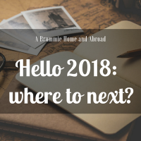 A Year in Review: 2018 - Where Next?