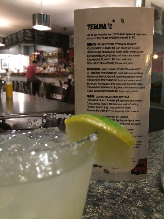 Tequila and tacos in Revelstoke