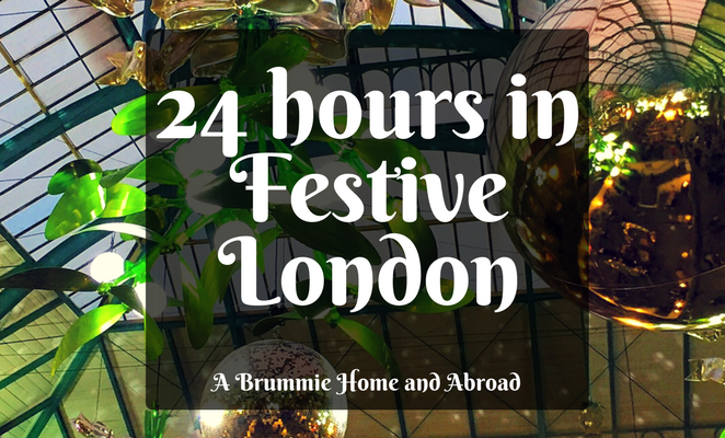 Title Page: 24 hours in Festive London