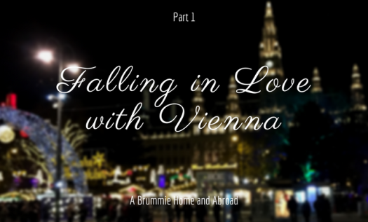Falling in Love with Vienna (Part 1) - A Brummie Home and Abroad