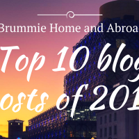A Brummie Home and Abroad - Top 10 Posts of 2017!