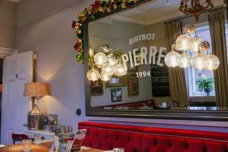 The interior of Bistrot Pierre Birmingham