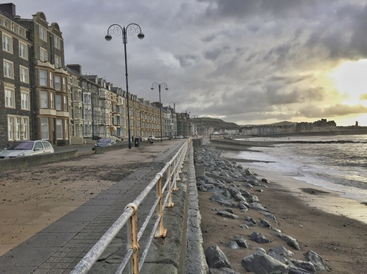 The seaside town of Aberyswyth