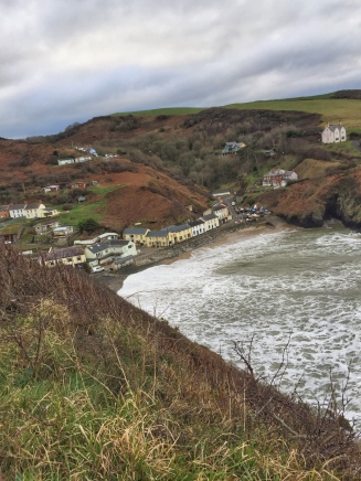 The Ceredigion Coastal Path: Llangrannog