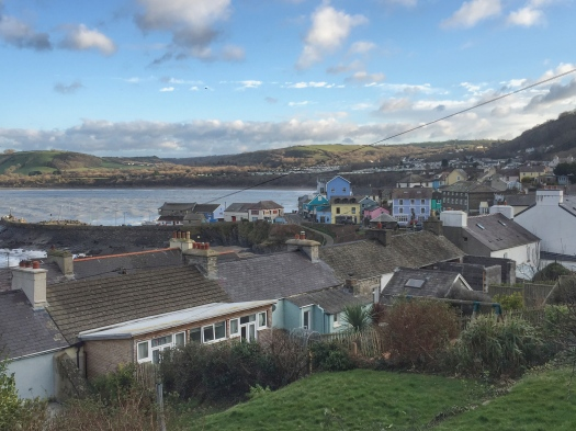 The harbour town of New Quay