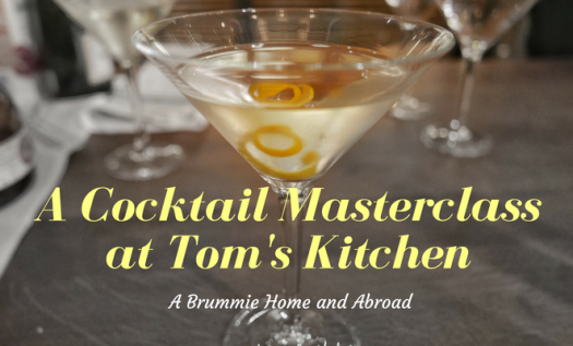 A Cocktail Masterclass at Tom's Kitchen