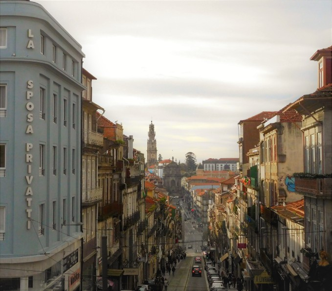 The undulating streets of Porto