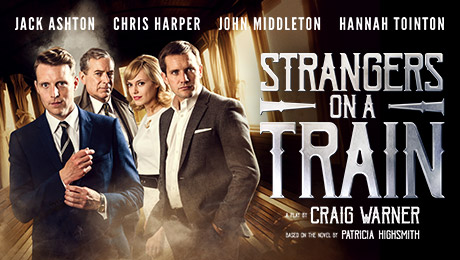 Theatre Poster for Strangers on a Train