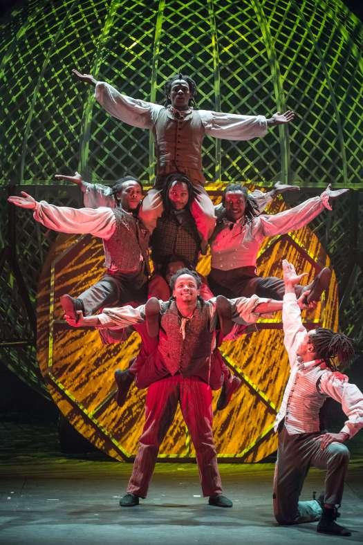Cirque Berserk, celebrating 250 years of circus