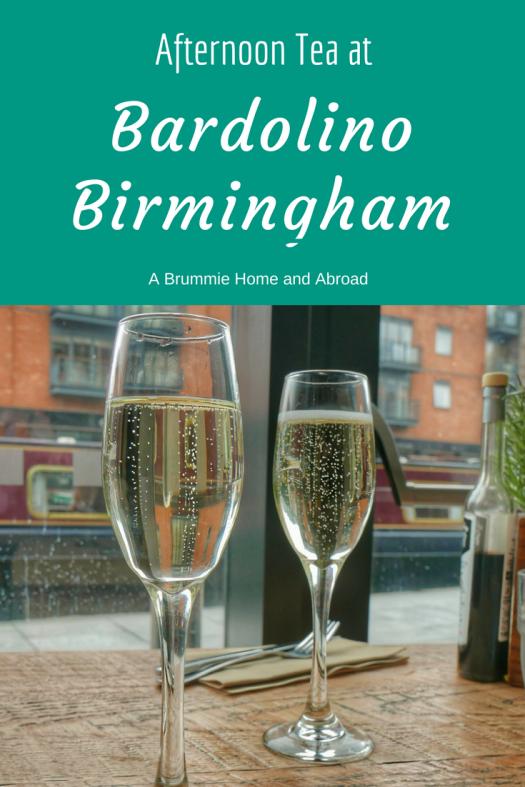 Afternoon Tea at Bardolino Birmingham