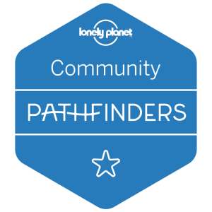 I'm a Lonely Planet Community Pathfinder!