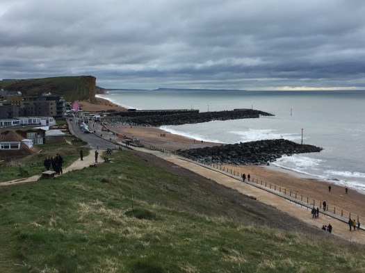 West Bay: Walking the South West Coastal Path walk