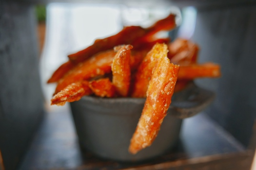 Sweet Potato Fries: Afternoon Tea at Bardolino Birmingham