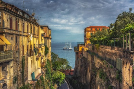 Gazing down to the Bay of Naples, by CPF Photography