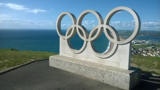 Olympic Rings, Portland, Dorset