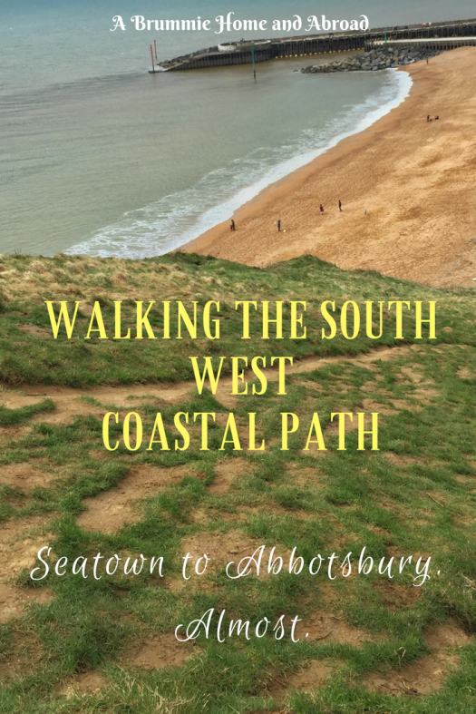 Walking the South West Coastal Path, Seatown to Abbotsbury