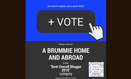 Vote A Brummie Home and Abroad