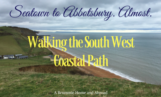 Walking the South West Coastal Path walk