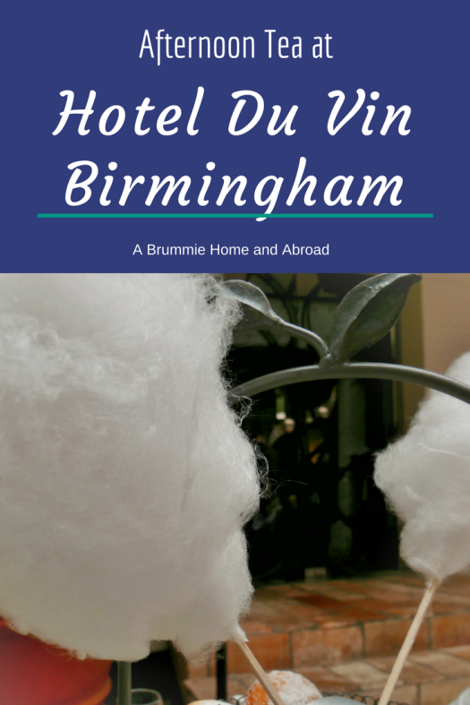 It's a return to a more traditional afternoon tea for A Brummie Home and Abroad and Ma Lee at Birmingham's Hotel Du Vin