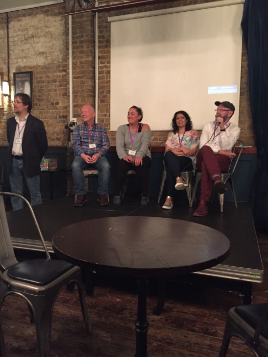 Panel Q&A at the Blogger Bash