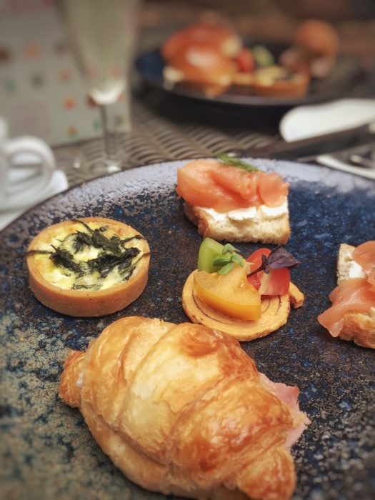 Savoury treats on our Hotel Du Vin afternoon tea