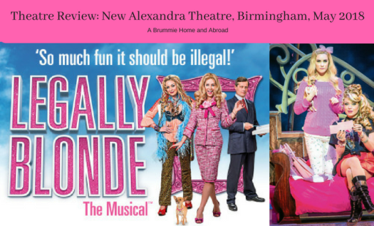 Legally Blonde Theatre Review