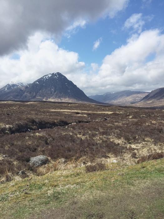 Glen Etive, mountains in Glencoe, Scottish Highlands