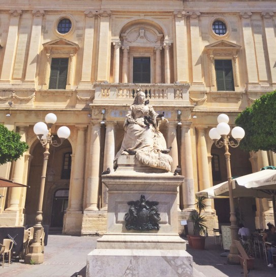 Statue of Queen Victoria, Republic Square, Valletta