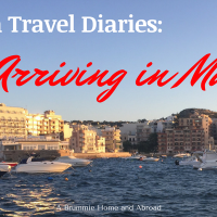 Travel Diaries: Arriving in Malta