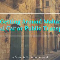 Getting around Malta: Car v Bus