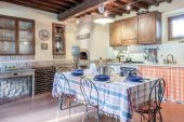 Villa, Tuscany, kitchen, traditional Italian kitchen