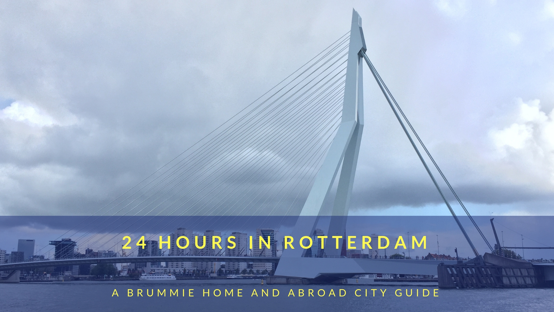 24 hours in Rotterdam: A Brummie Home and Abroad City Guide. Rotterdam deserves so much more than 24 hours, but what if that's all the time you have? Don't worry, you can hit all the main sights in just a single day!