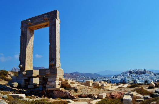 Naxos, Greek Islands, temple, Cyclades