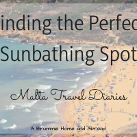 Malta Travel Diaries: Finding the Perfect Sunbathing Spot