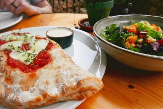 Award-winning Calzone from Baked in Brick, Digbeth