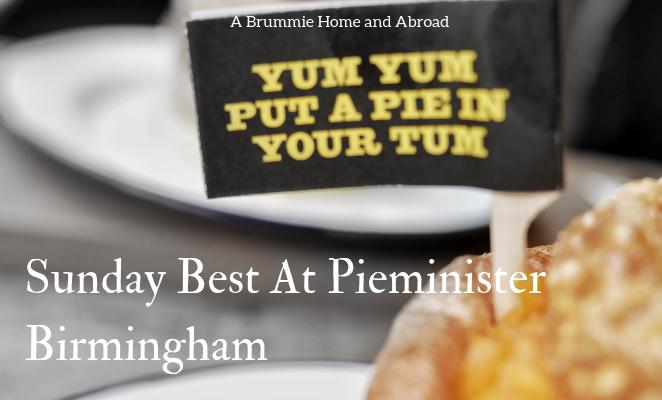 Restaurant Review: Pieminister Birmingham